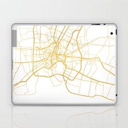 BANGKOK THAILAND CITY STREET MAP ART Laptop & iPad Skin