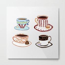 We want coffee! Metal Print
