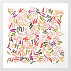 Scratches Art Print