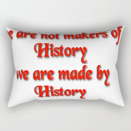 Makers of History Rectangular Pillow