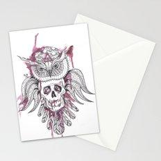 Owl Stationery Cards