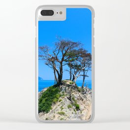 At the Brick of Loneliness Clear iPhone Case