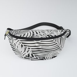 Tropical Island Silver Fanny Pack