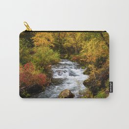 Spearfish Canyon - Creek Surrounded By Fall Color in Black Hills South Dakota Carry-All Pouch