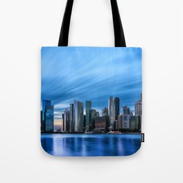 Singapore skyline Tote Bag