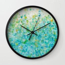 Sunny Garden Wall Clock