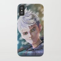jack frost iPhone & iPod Cases featuring Jack Frost by Elisehill3