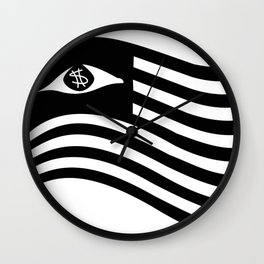 Rebel Scum Flag Wall Clock