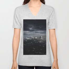 Clouds over the  Sea Unisex V-Neck