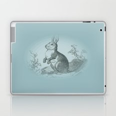 Bunny Rabbit {teal} Laptop & iPad Skin