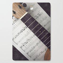 happy strings {ukulele Cutting Board