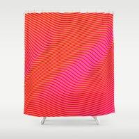 Fancy Curves Shower Curtain