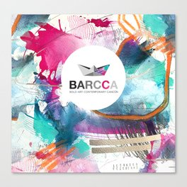 BARCCA by leo tezcucano 2 Canvas Print