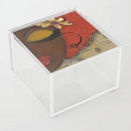 Chocolate Sassy Girl Acrylic Box