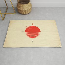 "Japan relief poster/all proceeds will go to ""Peace Winds"" Rug"