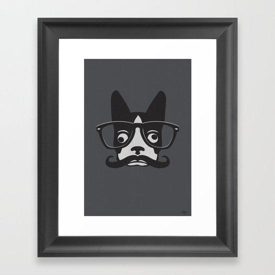 Boston Intellectual Framed Art Print