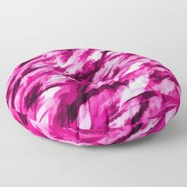 Hot Pink Designer Camo Floor Pillow