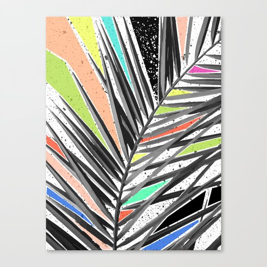 Tropical madness Canvas Print