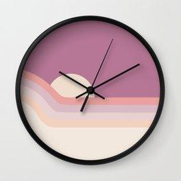 Lilac Rainbow Dipper Wall Clock