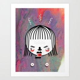 LOVE / WAR 3 Art Print