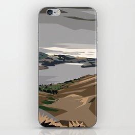 Cass Bay, New Zealand iPhone Skin