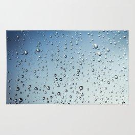 raindrops texture Rug