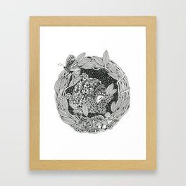 Pangolin's Dream Framed Art Print