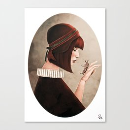The Monarch Canvas Print
