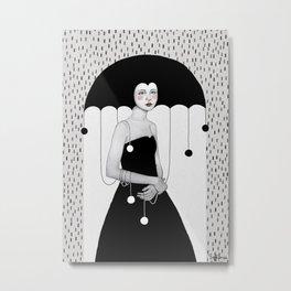 Rainy Minta Metal Print