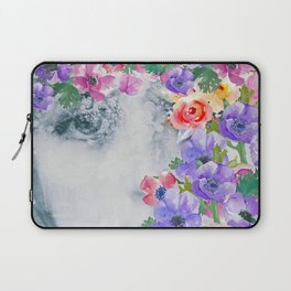 The real flower girl Laptop Sleeve