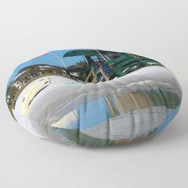 Welcome To Siesta Key Beach Floor Pillow
