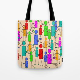 In A Tizzy Tote Bag