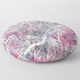 London map Floor Pillow