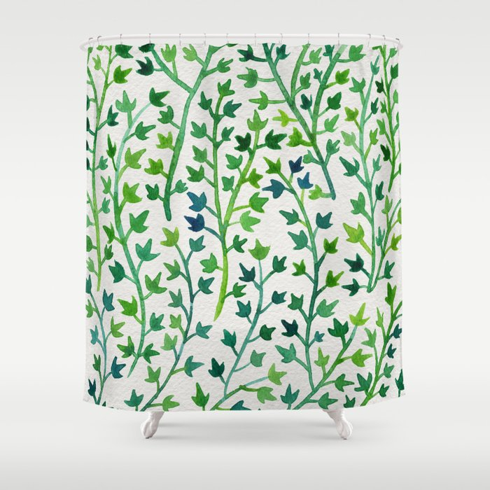 Summer Ivy Shower Curtain