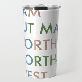 Shakespeare - Hamlet - I Am But Mad North-North-West Travel Mug