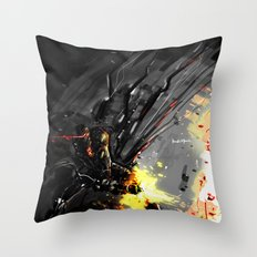 Downshaft  Throw Pillow