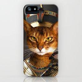 Neferkitty iPhone Case