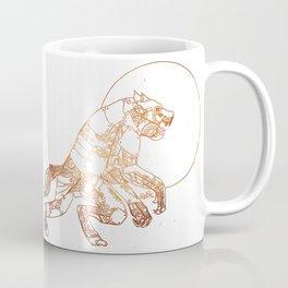 Steampunk Robot Werewolf Coffee Mug