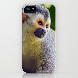 Squirrel monkey - Costa Rica iPhone Case