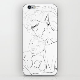 Proud Mother iPhone Skin
