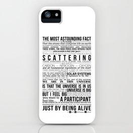 Neil DeGrasse Tyson Science Manifesto iPhone Case