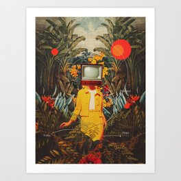 She Came from the Wilderness Art Print