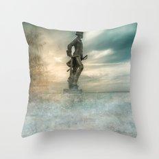 Dreams about sea Throw Pillow