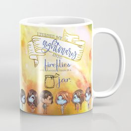 Sarai's Fireflies Coffee Mug