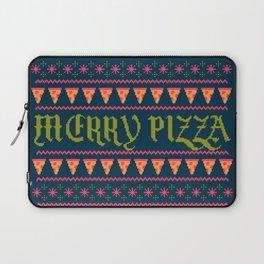 Merry Pizza Laptop Sleeve