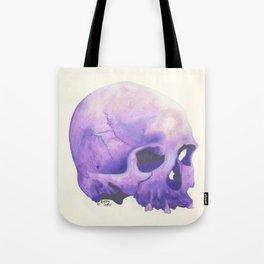 Purple Skull Tote Bag