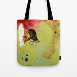 Green Goddess Tote Bag
