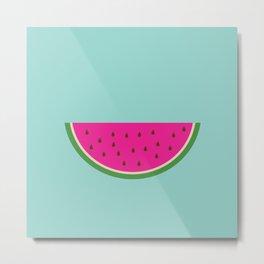 Watermelon print Metal Print