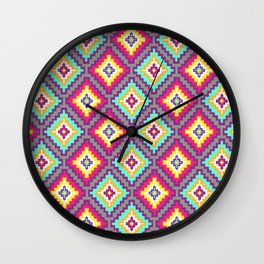 Indi-abstract#07 Wall Clock