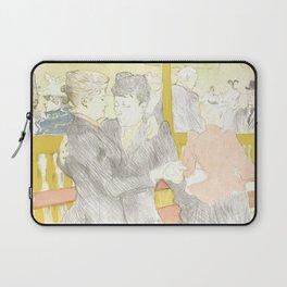 """Henri de Toulouse-Lautrec """"Two Woman Dancing"""" Laptop Sleeve"""